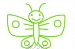 兒童簡筆畫蝴蝶的畫法 教你花蝴蝶怎么畫漂亮又簡單