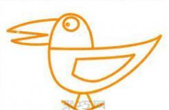最簡單的卡通烏鴉簡筆畫怎么畫教程圖解