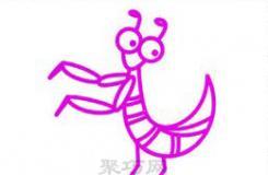 螳螂怎么��好看?跟著�@��教程����蔚捏�螂