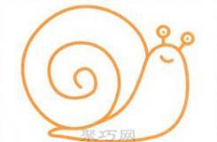 畫蝸牛的簡筆畫怎么畫漂亮又簡單?小朋友們跟著這篇教程學習吧