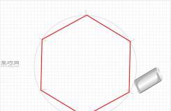 用圓規畫一個完美的六邊形畫法步驟 教你畫六邊形畫法