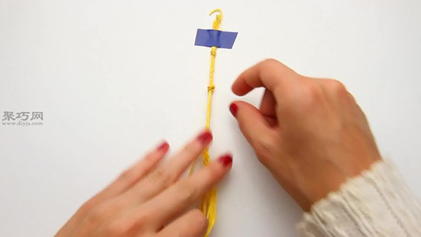 如何編織圓點手繩