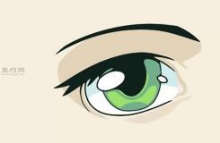 女性的眼睛畫法步驟 一起學如何畫動漫人物的眼睛