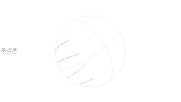 棒球图标画法步骤