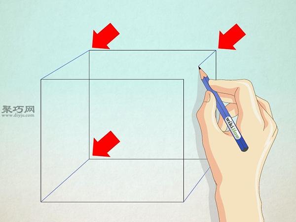 正方形画房子的画法 19