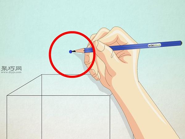 正方形画房子的画法 20