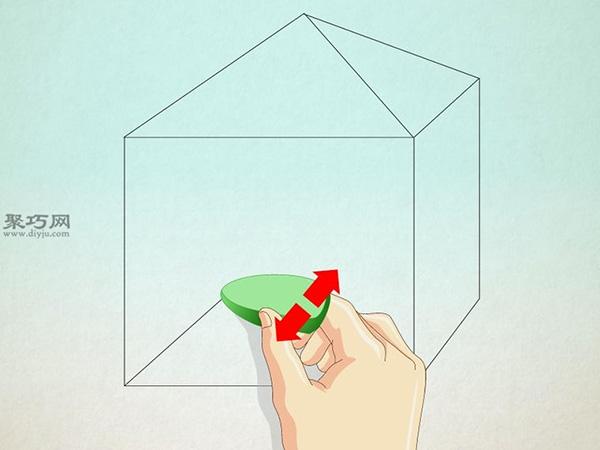 正方形画房子的画法 22