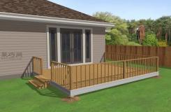 建造木板露臺步驟 怎么樣建造木板露臺