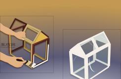 用相框制作迷你溫室教程圖解 一起學迷你溫室怎么做