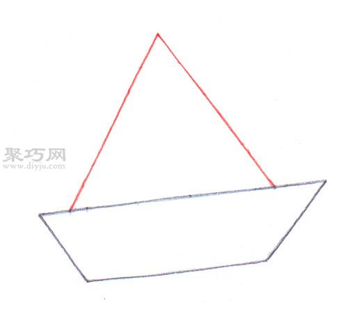 传统船的画法 3