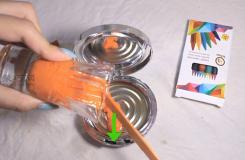 用蠟筆做唇膏方法 一起學唇膏如何做