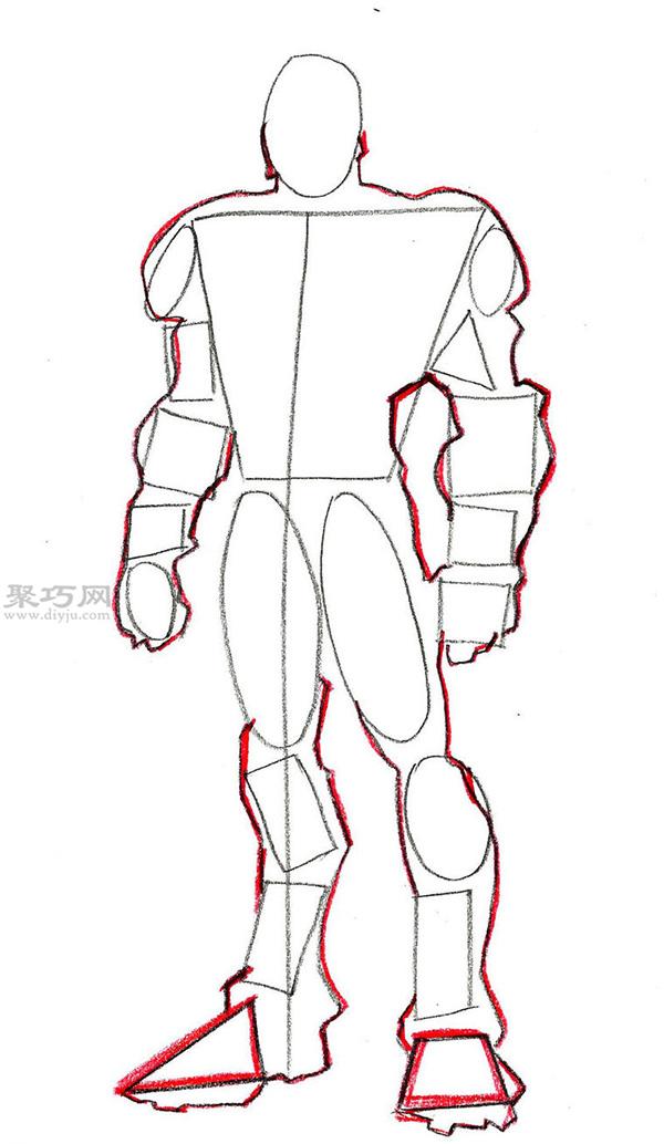另一種鋼鐵俠畫法教程 5 7