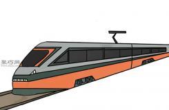 動車的畫法步驟 教你畫小火車畫法