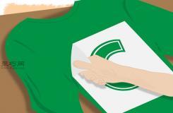 怎么�邮褂�徂D印�在T恤上印�D案 在空白T恤上印�D案�D片教程