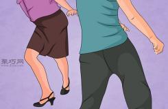 如何跳查��斯�D舞 教你跳�u�[舞教程
