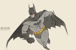 怎么��奔跑中的蝙蝠�b 一起�W手�L蝙蝠�b步�E