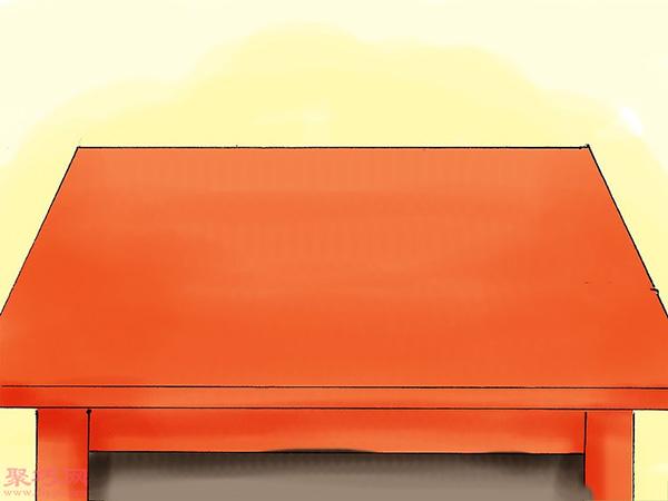 使用彩色粉筆做彩沙方法 17