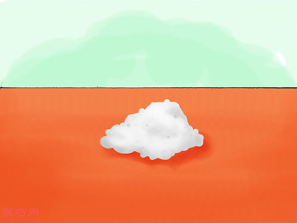 使用彩色粉筆做彩沙方法 18
