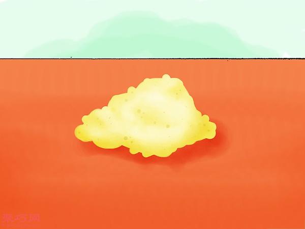 使用彩色粉筆做彩沙方法 20
