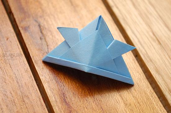 如何折有趣的折紙