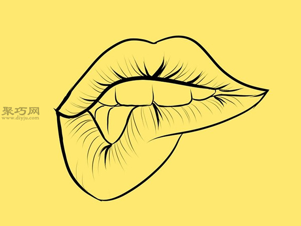 ���o咬的嘴巴��法步�E 12