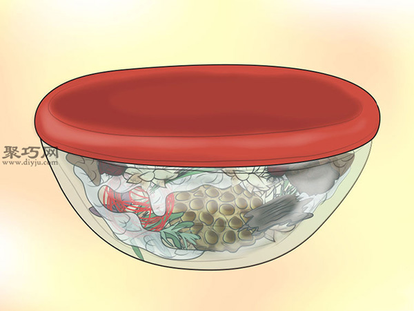 百花香的濕式制作法圖片教程 18