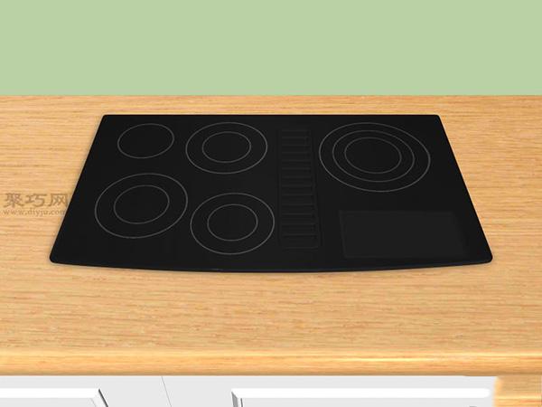 如何去除玻璃爐灶面上的劃痕 5