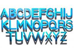畫A-Z立體字母教程 怎么畫A-Z立體字母