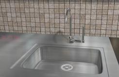 如何用螺旋管道疏通器疏通水槽 疏通�N房水槽教程�D解
