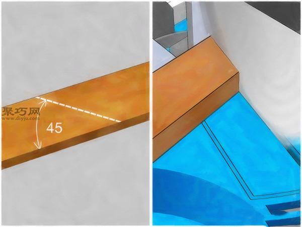 如何給鏡子加框 2