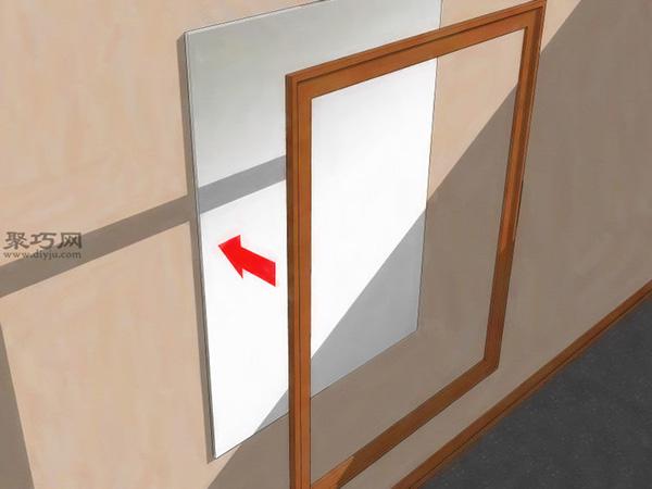 如何給鏡子加框 6