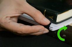 如何裝訂書冊 用膠黏劑裝訂書教程