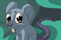 卡通老鼠形象的畫法 一起學畫老鼠步驟