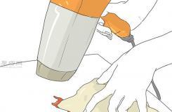 怎樣使用吹風機去除蠟燭油 清除蠟燭油圖片教程