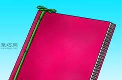 手工制作筆記本教程圖解 一起學怎么DIY筆記本