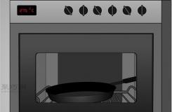 如何保養全新平底鐵鍋 給平底鐵鍋制造防粘層圖解教程