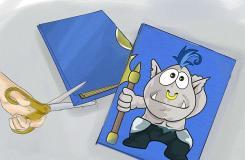 怎樣裝飾筆記本 用舊T恤裝飾筆記本圖片教程