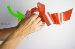 用紙板或者泡沫板做小蝴蝶結教程圖解 一起學花蝴蝶結如何做