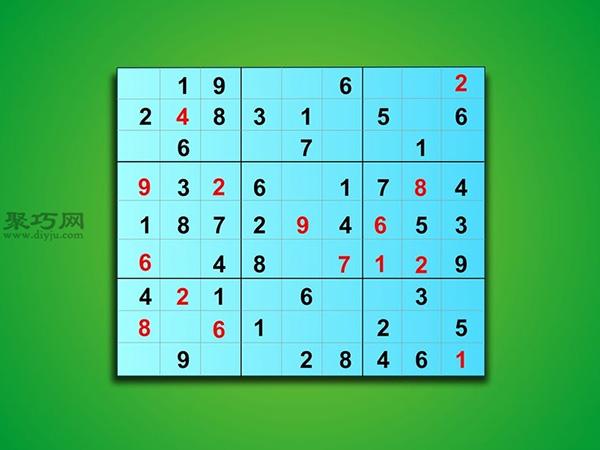 怎樣解簡單數獨 3