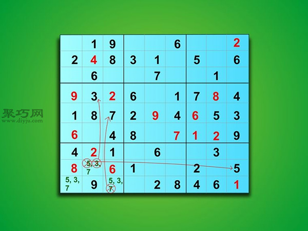 怎樣解簡單數獨 4