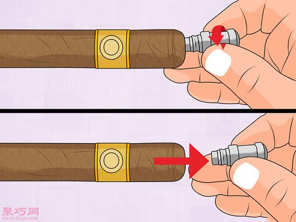 怎樣鉆孔式切割雪茄剪 8