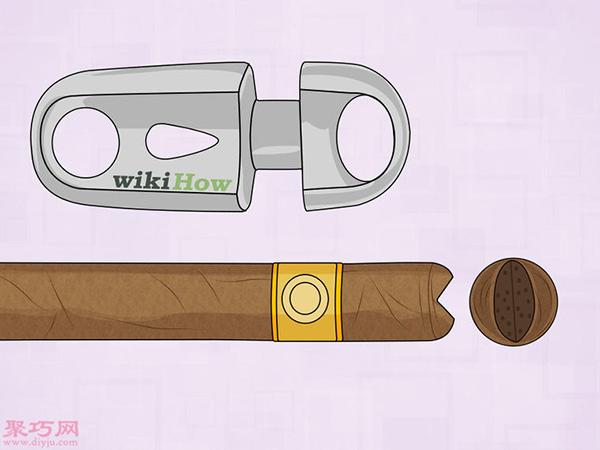 怎么剪切雪茄 9