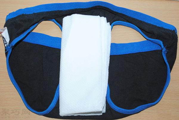 用衛生紙自制衛生巾怎么 5