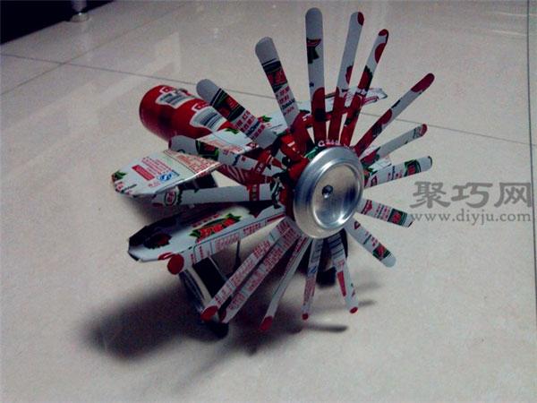 小发明小制作飞机图解