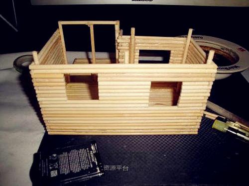 手工房子制作图解步骤图