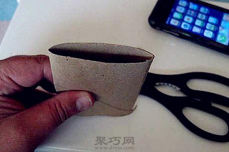 纸筒折法步骤图
