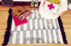 舊T恤diy個性時尚地毯 教你舊t恤怎樣改造地毯