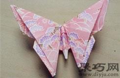 如何折蝴蝶图解 手把手教你怎样用纸折蝴蝶