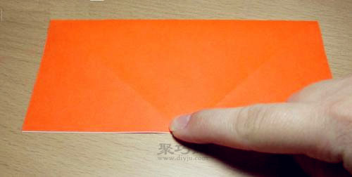 如何用长方形纸折纸盒子 小物件收纳盒折纸