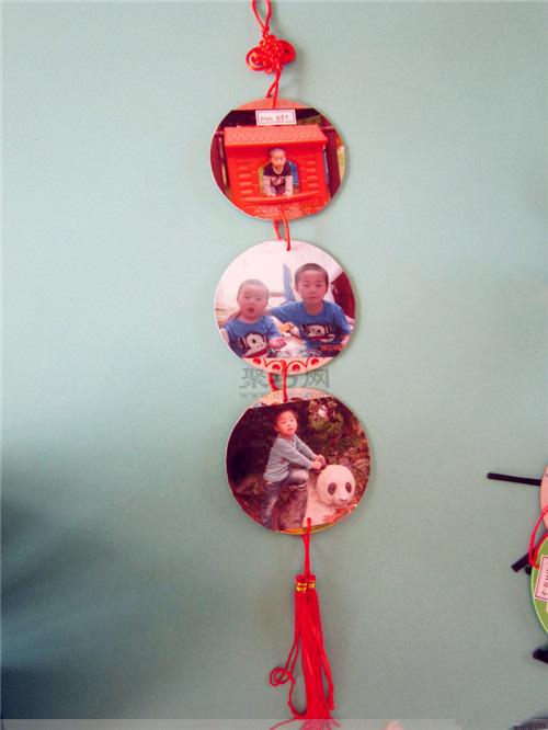 光盘创意手工制作小动物,玩具,日用品 光盘废物利用作品集